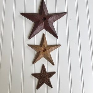 Set of Metal Stars